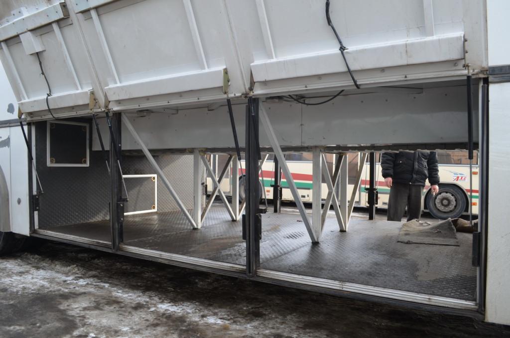 автобус МАЗ152 Набережные Челны багажное отделение