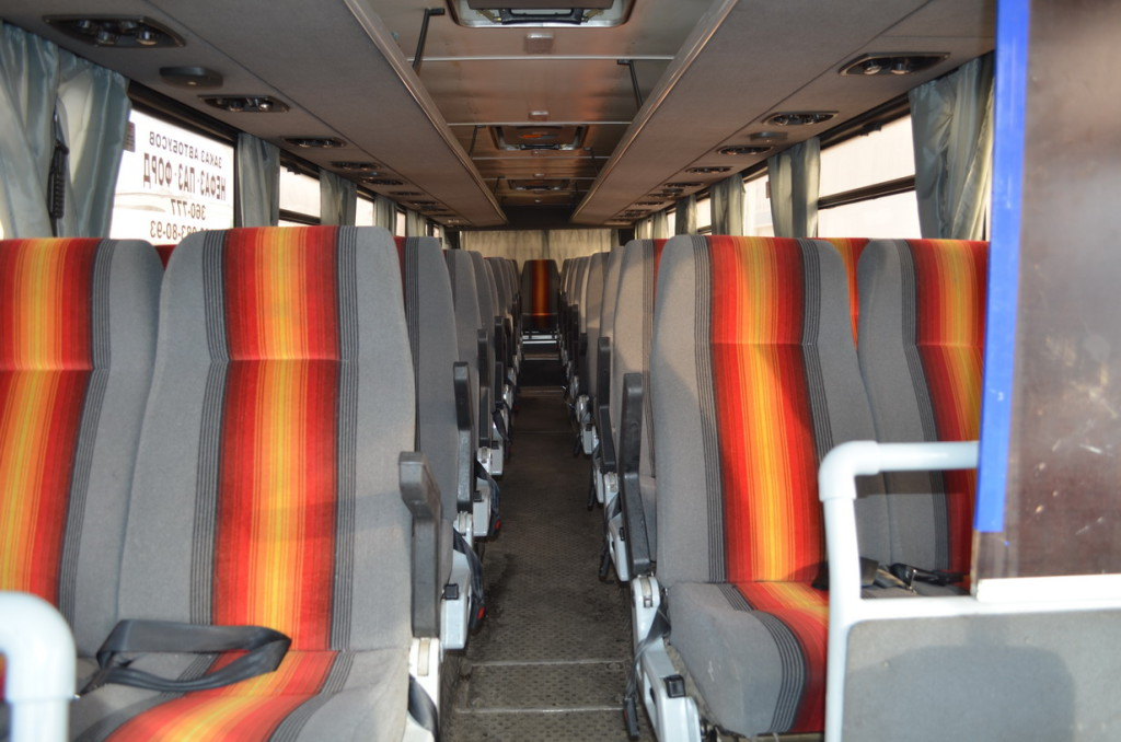 автобус МАЗ152 Набережные Челны салон