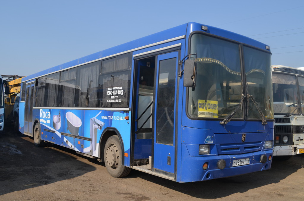 заказ автобуса НЕФАЗ Набережные Челны