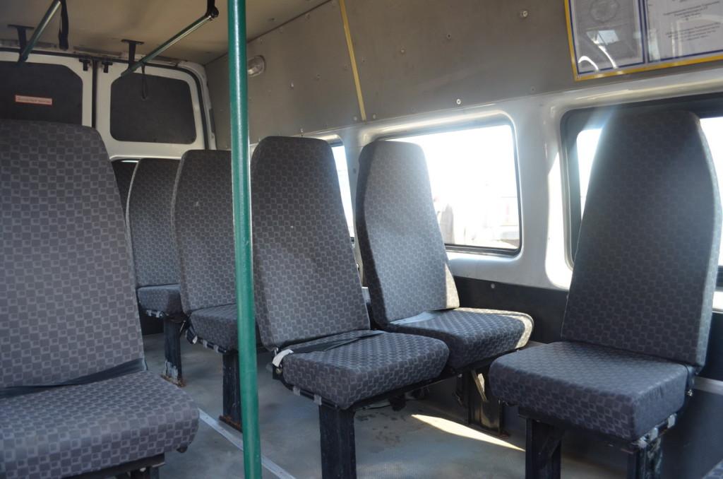 Автобус ФОРД салон