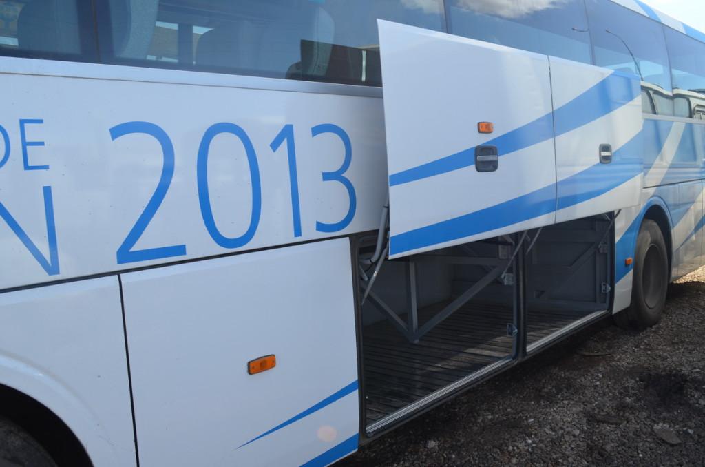 автобус Hyundai Набережные Челны багажное отделение